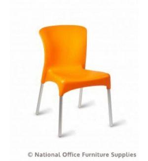 Ellie Side Chair Orange
