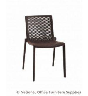 Katie Side Chair Chocolate
