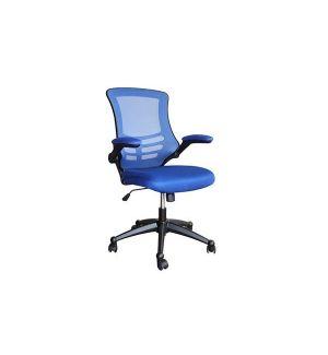 Ex-Display Blue Air Mesh Swivel Chair