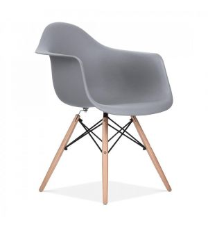 Grey Charles Eames Style DAW Chair