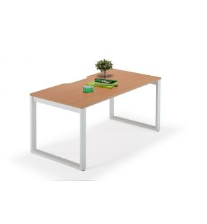Second Hand Beech Executive Bench Desks