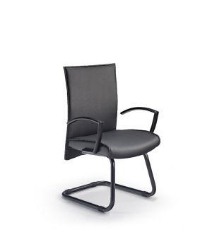 Ex Display Essen Modern Black Cantilever Chair