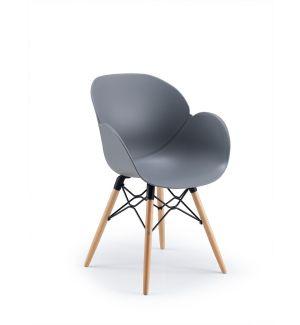 Stylish Shoreditch Grey Tub Chair