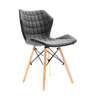 Clearance Lightweight Quilted Fabric Side Chair