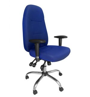 24 Hour Operators Chair - Blue Fabric