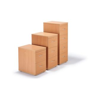 Second Hand Beech Office Filing Cabinets