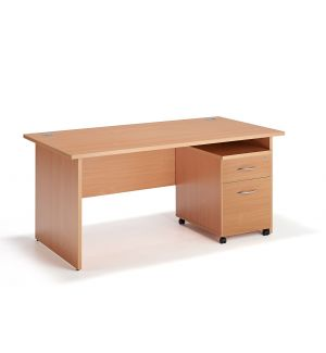 Two Drawer Pedestal