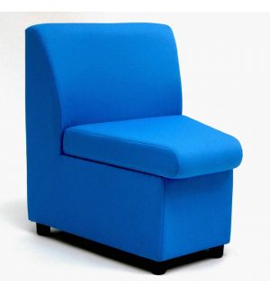 Breakout Area Modular Sofa Concave Unit