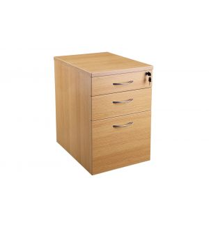 Light Oak Mobile Desk Pedestal