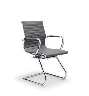 Clearance Black Charles Eames Inspired Cantilever Boardroom Chair