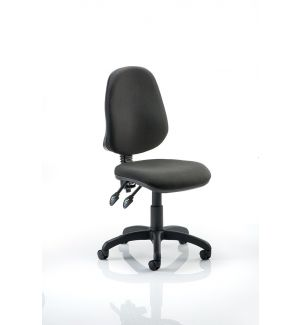 Office Swivel Operators Chair Without Arms (Van) - Black