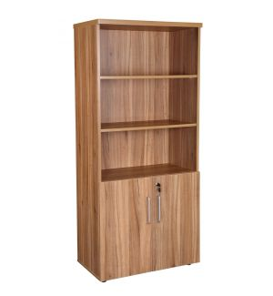 Managers Executive Office Combination Cupboard American Walnut