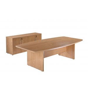 Managers Executive Office Boardroom Table Storage Package Crown Oak