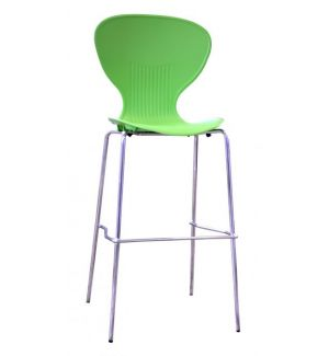 Bennet Stackable Stool - Lime Green