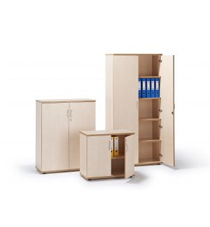 Maple Executive Office Cupboard (Items Are Sold Separately)