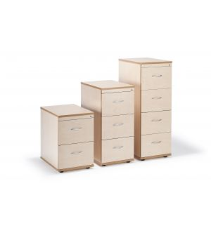 Maple Office Filing Cabinets (Items Are Sold Separately)
