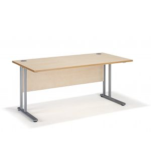 Maple Straight Cantilever Office Desks