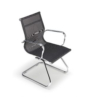 Clearance Charles Eames Inspired Black Mesh Boardroom Chairs