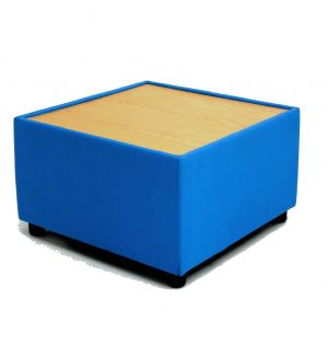 Breakout Area Square Table with Beech Top