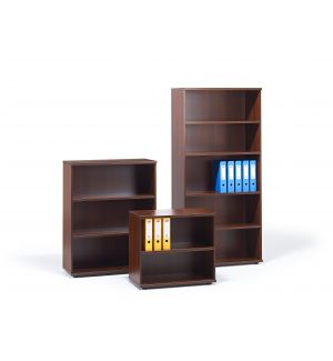 Walnut Office Bookcase (Items Are Sold Separately)
