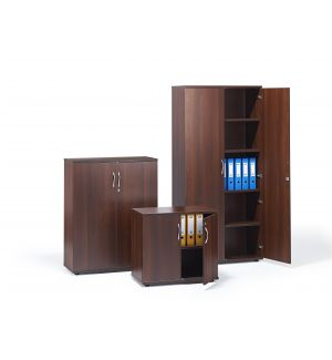 Walnut Office Cupboards (Items Are Sold Separately)