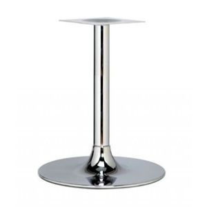 Global Chrome Trumpet Large Round Table Base