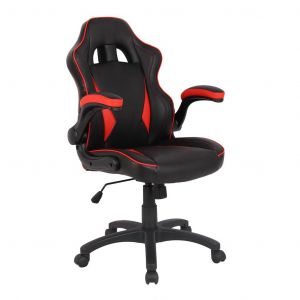 Ergonomic Racing Style Gaming Chair - Red