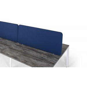 Fabric Desk Mounted Straight Screens