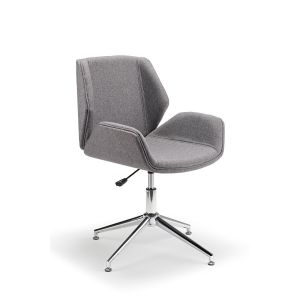Boss Design Kruze Inspired Chair In Grey Fabric