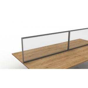 Desk Mounted Anti Microbial Healthcare Screens