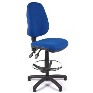 Draghtmans Chair with Ring - Blue