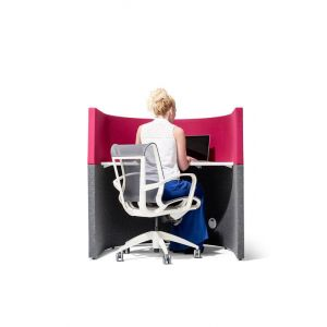 Acoustic Dampening Study Booth