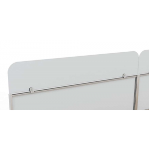 Sneeze Guards For Desk Mounted Anti Microbial Healthcare Screens