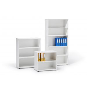 White Office Bookcase
