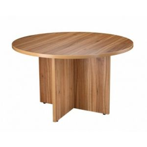 Managers Executive Office 1200mm Diameter Table American Walnut