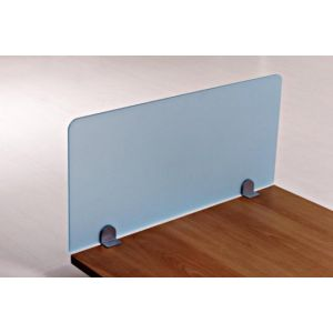 Straight Perspex Desk Top Screens 380mm High