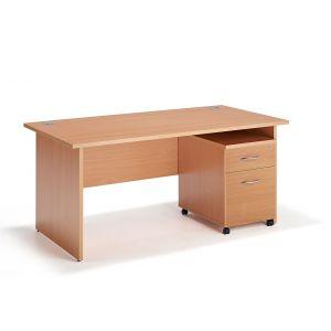 Two Drawer Pedestal