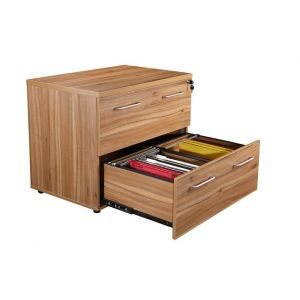Managers Executive Office Side Filing Cabinet American Walnut