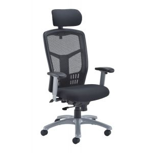 Ergonomic Mesh High Backed Office Chair With Head Rest 2