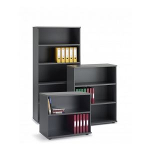 Graphite Grey Office Bookcase (Items Are Sold Separately)
