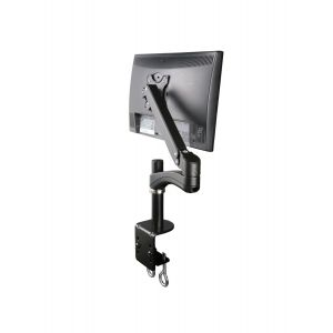 Black Gas Assisted Spring Monitor Arm