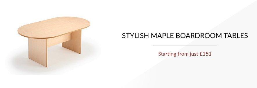 Maple Boardroom Tables