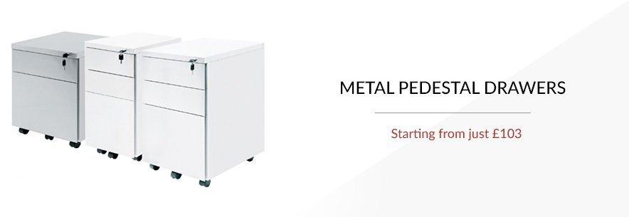 Pedestal Drawers (Metal)