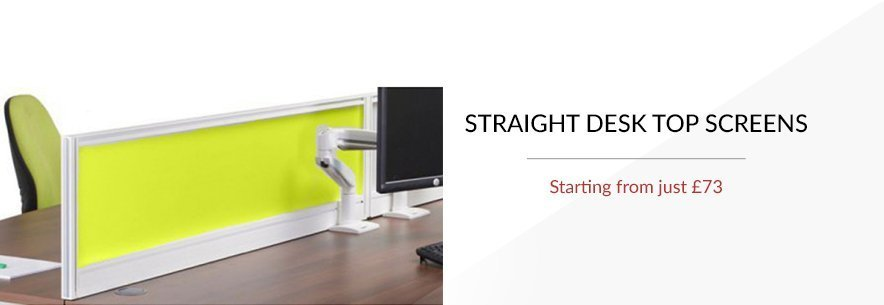 Straight Desk Top Screens
