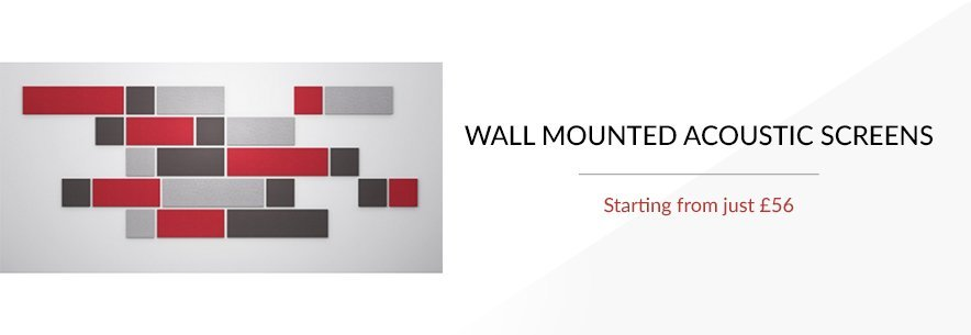 Wall Mounted Acoustic Screens