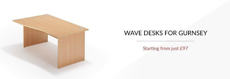 Wave Desks For Guernsey