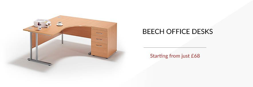 Beech Office Desks