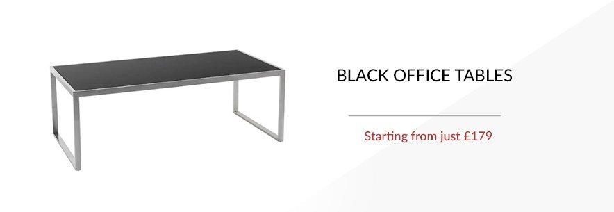 Black Office Tables