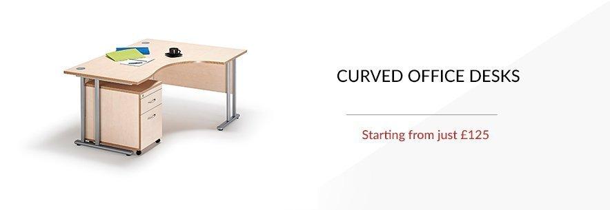 Curved Office Desks banner