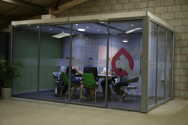 performance paints office pod